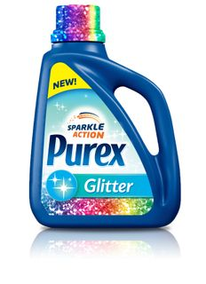 Introducing New Purex Glitter Detergent! #PurexInsiders❤️ my o my the things I can do w this!!!