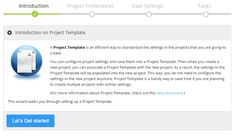 Project Template is an important feature that we attempt to make managing projects and users more efficient for medium or large organizations. User Settings, Organizations, Ads, Templates, Projects, Medium, Models, Blue Prints, Organisation