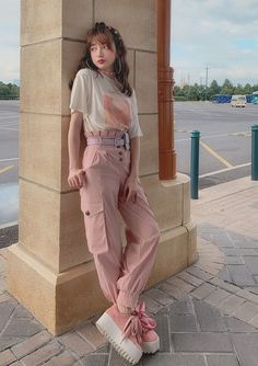 Korean Girl Fashion, Korean Fashion Trends, Japanese Fashion, Trendy Fashion, Fashion Outfits, Cute Comfy Outfits, Classy Outfits, Aesthetic Fashion, Aesthetic Clothes