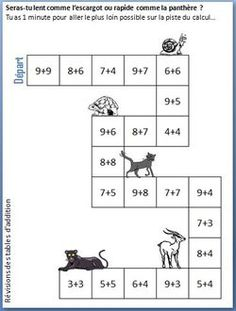 Réviser les tables de multiplication - Cycle III - Charivari Plus Math 5, Multiplication And Division, 4th Grade Math, Fun Math, Math Activities, Math Tables, Math Addition, Math Help, Cycle 3