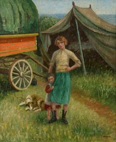 Marjorie Bruford 1902 - 1958 Marjorie Frances Bruford, known as 'Midge', was a school friend of Lamorna Birch's daughter, Mornie. She came to Cornwall to attend the Forbes' School of Painting and went on to study under Harold Harvey and Ernest Procter.