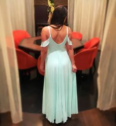 Lulu's off the shoulder maxi dress gown
