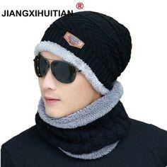 a326e21aaaf 2019 Hot Winter Hats Skullies Beanies Hat Winter Beanies For Men Women Wool  Scarf Caps Balaclava Mask Gorras Bonnet Knitted Hat