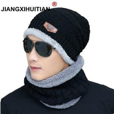 019c668ce730cf 2019 Hot Winter Hats Skullies Beanies Hat Winter Beanies For Men Women Wool  Scarf Caps Balaclava Mask Gorras Bonnet Knitted Hat