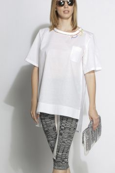 #aviu #ss14 #outfit  #tshirt #leggings #details