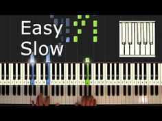 The Fray - How To Save A Life - piano tutorial easy SLOW - how to play (synthesia) - YouTube