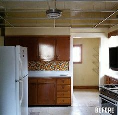 Before and After: A $1,200 Kitchen Overhaul » Curbly | DIY Design Community