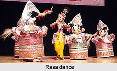 Rasa dance of Manipur is undoubtedly the origin of the classical dances in Manipur. For more visit the page. #dance #folkdance #folkart #indiandance