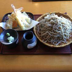 天ぷら蕎麦定食 長野