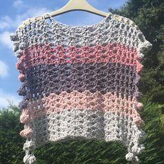 crochet poncho kids Ravelry: Child Size Bobble Pom Pom Poncho pattern by Melanie Poulter Kids Poncho Pattern, Crochet Poncho Patterns, Crochet Shawl, Crochet Top, Crochet Baby, Ravelry Crochet, Crochet Kids Scarf, Crochet Dress Girl, Crochet For Kids