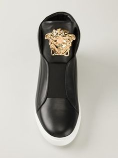 Shop Versace Medusa hi-top sneakers in Elite from the world s best  independent boutiques at 14870d1f96a