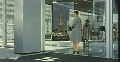 Playtime (1967) by Jacques Tati.