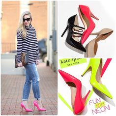 Kate Spade Licorice hot pink pumps 7.5 Worn twice,mint condition,❌No TRADE‼️ kate spade Shoes Heels