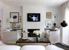 TV , Art display ideas