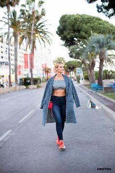 Cristina Ferreira   Daily Cristina   Cannes   Moda   Denny Rose   Loja D'Adelia    OVS   Adidas