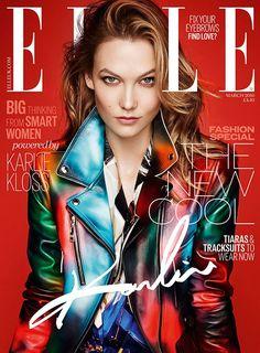 Karlie Kloss Covers Elle UK March 2016