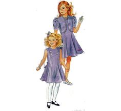 BARBIE for Girls DRESS Sewing Pattern Princess by HoneymoonBus, $8.99