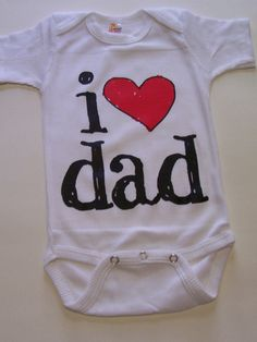 74f99eae Dad Shirt Father's Day Bodysuit Dad Gift Baby Gifts For Father, New Baby  Gifts,