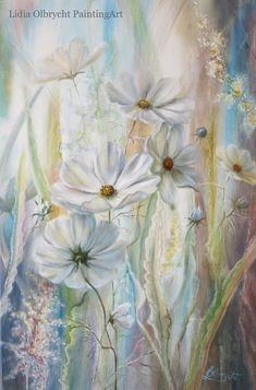 Wild Flowers Impression by  Lidia Olbrycht/ Poland