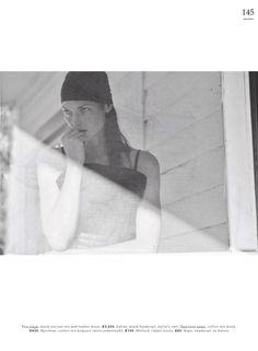 Mini Anden models black Celine sleeveless dress