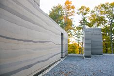 Rammed Earth house in Muskoka Ontario Canada. Tapial Homes