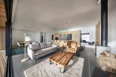 """The Crow's Nest: holiday home on a cliff top designed by AR Design Studio Architects:AR Design Studio Location:South Coast, England Year: 2016 Area: 1.938 ft²/ 180 m² Photo courtesy:Martin Gardner Description: """"AR Design Studio was approached by the clients who were looking to extend their holiday home on a cliff top on the South Coast. …"""