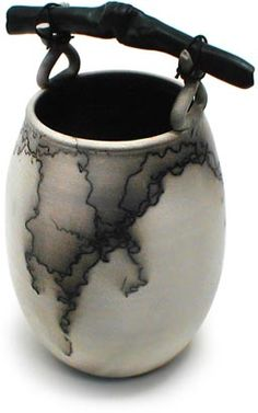 Gallery: Ann Testa raku horsehair. Got to see this being done once and it is awesome.