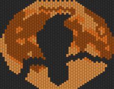 Crow N Moom  bead pattern