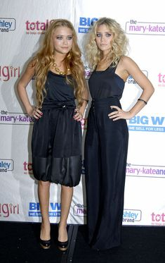 Ashley and Mary-Kate Olsen's Style Transformation Photo Gallery - 2005, in Sydney Australia