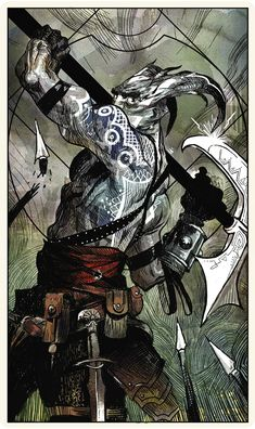 Tarot card for Katari: The Katari - Dragon Age: Inquisition multiplayer character