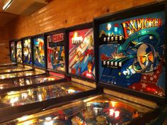 """Pinball from """"One More Time"""" in Inuyama, Japan. http://www.one-more-time.jp/game-en/"""