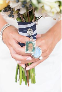 Wedding Bouquet Charm Kit Photo Pendants Charms For Family