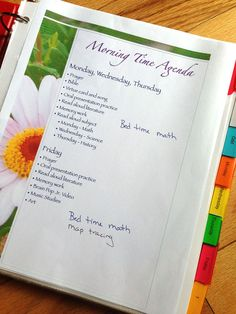 You can read more about how we do Morning Time in this post. Another nuts and bolts post here, but this little gem has already been worth its weight in gold, and we are only on week four of the school year. Meet the new Morning Time Binder. Ta-da! Isn't it just the loveliest thing …