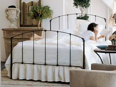 Charles P. Rogers has the most beautiful wrought iron beds...this is the one I own. Love it.