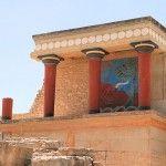 Crete: The Palace at Knossos - story at Cruisin Susan Cruise Blog