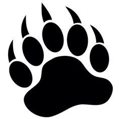 bearcat paw clip art bear paw tracks free cliparts that you can rh pinterest com Bear Claw Print Clip Art Bear Claw Graphic