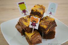 Brownies alla zucca e cioccolato Bimby #ricettebimbynet