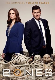 """Temperance """"Bones"""" Brennan and cocky F. Special Agent Seeley Booth build a team to investigate murders. Quite often, there isn't more to examine than rotten flesh or mere bones. John Francis Daley, Booth And Bones, Booth And Brennan, Bones Tv Series, Bones Tv Show, Emily Deschanel, David Boreanaz, Grimm, Series Movies"""