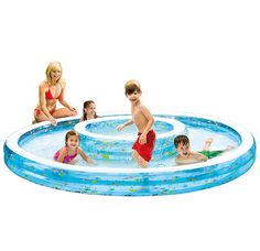 Intex 57143NP Kinderplantschbecken  Muster Blau Vinyl     #INTEX #57143NP #Pools  Hier klicken, um weiterzulesen.