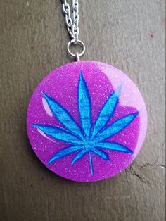 Marijuana Beaded Necklace Etsy - $15.00