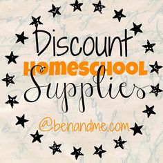 Ben and Me: Frugal Family -- Discount Homeschool Supplies