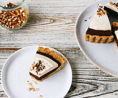 We're pretty sure Memorial Day weekend means throwing your summer diet plans out the window, so how about this Chocolate Mousse Pie with Peanut Butter Pretzel Crust?