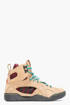 the latest 47110 6ccea Adidas Originals X Opening Ceremony Taupe Suede Oc Enforcer Convertible Rock  Climbing Boots in Brown for Men (taupe)