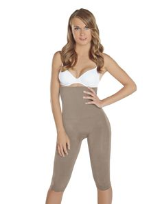 9461ffaab091 Faja Bodysuit Capri Layer Shaper BioCrystals Body Briefer Shapewear Women  ** Details can be found by clicking on the image-affiliate link.