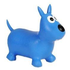 HippySkippy Rufus de Hond Wit skippykoe springkoe skippyhond