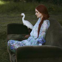 little bird by monia Merlo