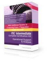 ITIL 2011 OSA Complete Examination Package  PDF Textbook for OSA 45 days  access to elearning 45 days access to online exam preparation program Prepaid Exam Voucher. + Free exam concierge Service + Free 60 Day enrollment extensions to both eLearning and exam prep courses + Free advanced trainer support