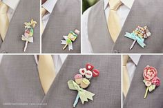 Boutonnieres photo by Axioo at Bridestory.com  click here for more inspiration --> http://bridestory.com/le-paperville/#/projects/22279  #wedding #weddings #weddingidea #weddinginspiration #bridestory #weddingcorsage #boutonnieres