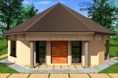 Round House Plans, Free House Plans, House Plans With Photos, Best Modern House Design, Simple House Design, Bungalow House Plans, House Floor Plans, Luxury Homes Dream Houses, Dream Homes