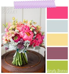Perfect Palettes - Bright Bouquet from Simply Brenna